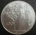 monedas de Europa - Italia -  1971 (Reverso)