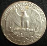 monedas de America - Estados Unidos -  1971 (Reverso)