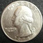 monedas de America - Estados Unidos -  1974 (Anverso)