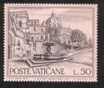 Sellos de Europa - Vaticano -  Fuentes