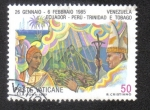 Sellos del Mundo : Europa : Vaticano : Viajes mundiales Papa Joan Paulo II