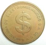 monedas del Mundo : America : México :  (Reverso) Token