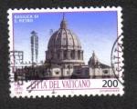 Sellos del Mundo : Europa : Vaticano : Monumentos