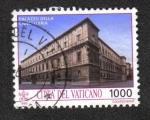 Sellos de Europa - Vaticano -  Monumentos