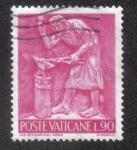 Sellos de Europa - Vaticano -  El trabajo de los humanos