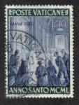 Sellos de Europa - Vaticano -  Pío XII abrió la Puerta Santa