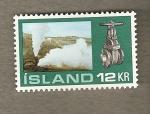 Stamps Europe - Iceland -  Máquina a vapor