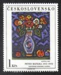 Sellos del Mundo : Europa : Checoslovaquia : P.Matejka: Kytica 1947