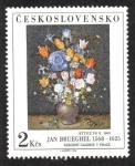 Sellos del Mundo : Europa : Checoslovaquia : J.Brueghel: Kytice po 1600