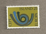 Stamps Europe - Iceland -  Europa