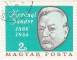 Stamps Hungary -  Koranyi Sandor- medicina