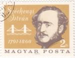 Sellos del Mundo : Europa : Hungría :  Széchenyi István- escritor y político