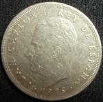 monedas de Europa - España -  1975 (Anverso)