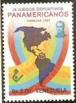 Sellos del Mundo : America : Venezuela : IX JUEGOS PANAMERICANOS