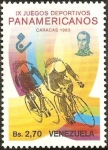 Stamps : America : Venezuela :  IX JUEGOS PANAMERICANOS