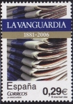 Stamps Spain -  La Vanguardia