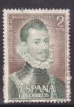 Stamps Spain -  IV cent. batalla de lepanto