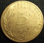 monedas de Europa - Francia -  1970 (Reverso)