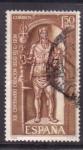 Stamps Spain -  XIX cent. creación de la legión VII g. león