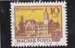 Sellos de Europa - Hungría -  Catedral Kiskunféleguháza