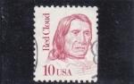 Sellos de America - Estados Unidos -  Red Cloud- caudillo Sioux