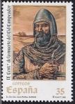 Stamps : Europe : Spain :  Cid Campeador
