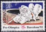 Stamps : Europe : Spain :  Pre-Olimpica Barcelona 92
