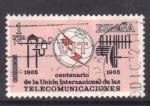 Stamps Spain -  Centenario de U.I.T.