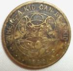 monedas de America - Estados Unidos -  1990 (Anverso) Token
