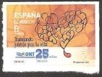 Stamps Europe - Spain -  4933 - Trabajando juntos por la vida