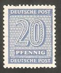 Stamps Germany -  15 - Cifra y nombre