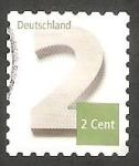 Stamps Germany -  2867 - Cifra