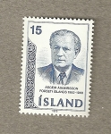 Stamps Europe - Iceland -  Ageir Asgeisson