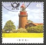 Stamps Germany -  Faro de  Buk