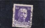 Stamps Italy -  Vittorio Enmanuele III