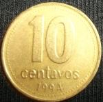 monedas de America - Argentina -  1994 (Reverso)