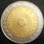 monedas de America - Argentina -  1994 (Anverso)