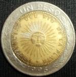 monedas de America - Argentina -  1996 (Anverso)