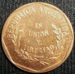 monedas de America - Argentina -  1997 (Anverso)