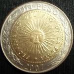 monedas de America - Argentina -  2007 (Anverso)