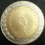 monedas de America - Argentina -  2009 (Anverso)