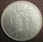 monedas de Europa - Bélgica -  1951 (Reverso)