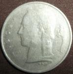 monedas de Europa - Bélgica -  1962 (Anverso)