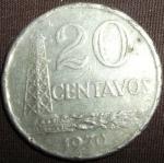monedas de America - Brasil -  1970 (Reverso)