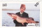 Sellos de Europa - Suecia -  pesca en Isö