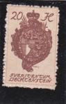Stamps Liechtenstein -  escudo