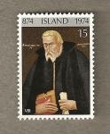 Sellos de Europa - Islandia -  cuadro