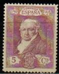 Stamps Spain -  ESPAÑA 1930 502 Sello Nuevo Quinta de Goya en la Expo de Sevilla Goya