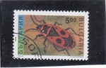 Stamps Bulgaria -  Insecto-