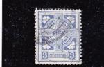 Stamps : Europe : Ireland :  cruz celta